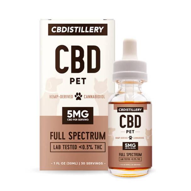 CBDistillery - CBD Pet Tincture - Full Spectrum - 150mg