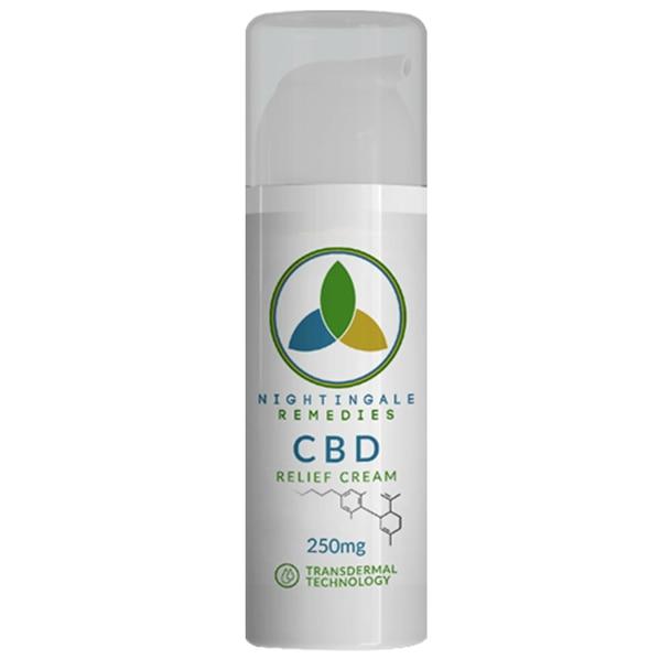 Nightingale Remedies - CBD Topical - Relief Cream - 250mg