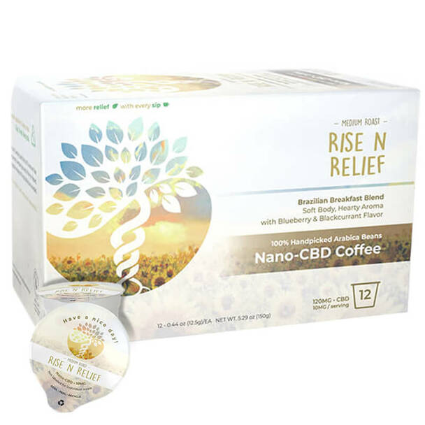 Creating Better Days - CBD Coffee Pods - Rise N Relief - 12pc-10mg
