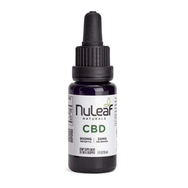 NuLeaf Naturals - CBD Tincture - Full Spectrum Extract